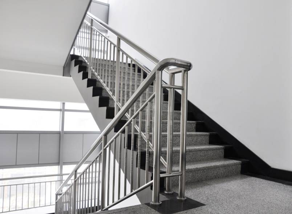 90石材面层踏步楼梯应用效果