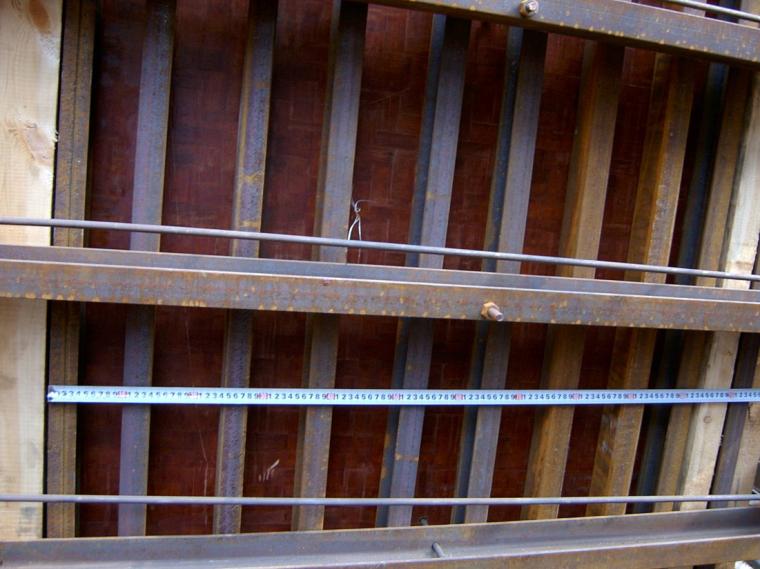 94框架柱木模板支模