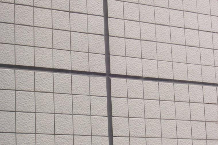 96面砖分格缝勾出米字状