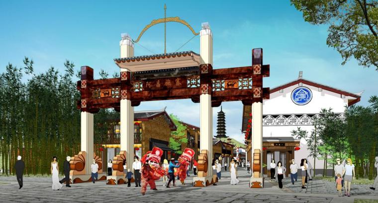 [云南]七彩古滇文化旅游名城景观旅游设计