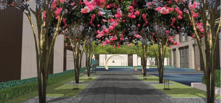 [四川]雅居乐天域售楼部概念景观设计方案