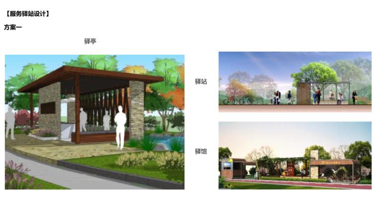 [江苏]全域旅游示范区发展总体规划-服务驿站设计