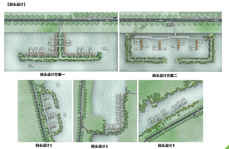 [江苏]全域旅游示范区发展总体规划-码头设计