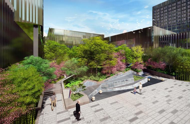 [上海]城市国际会议中心酒店景观设计方案