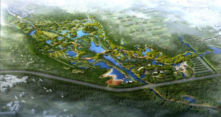 [福建]海绵湿地生态公园景观深化设计方案