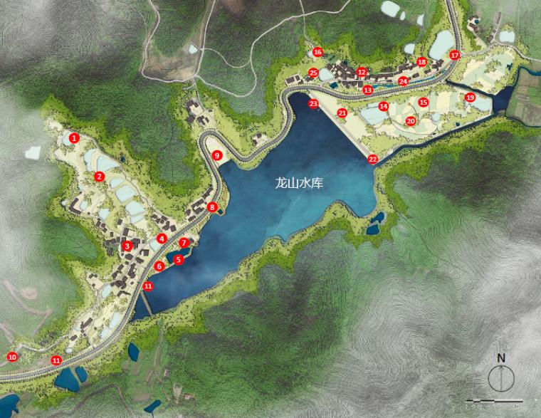 [南京]美丽乡村旅游示范区景观规划方案
