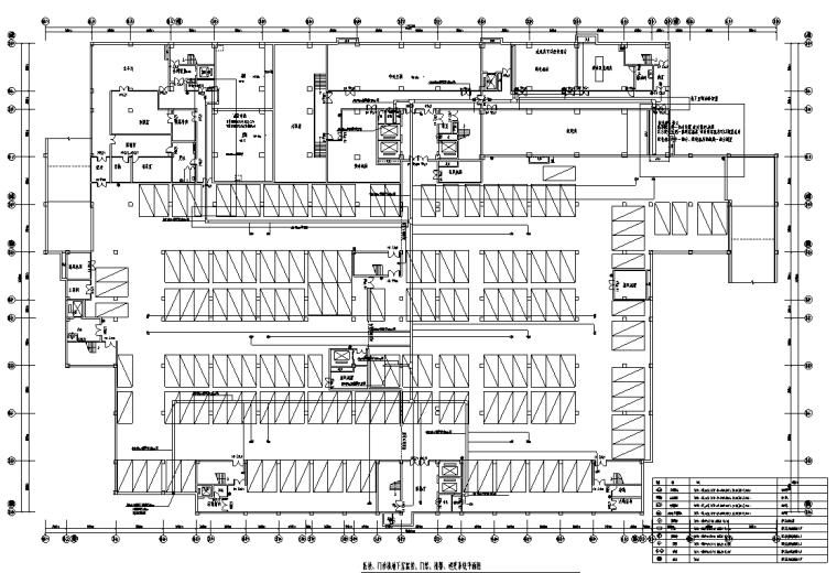 重庆三甲中医院智能化弱电深化设计图纸