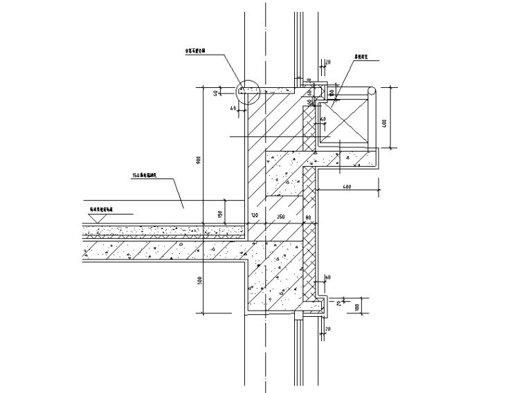 11套阳台雨棚节点详图设计(CAD)