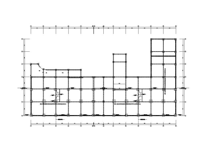 贵州11层科研楼拆建弱电电气施工图(2016)