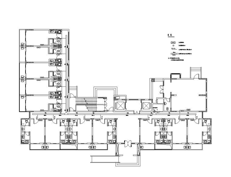 贵州17层厂房弱电电气施工图(2017)