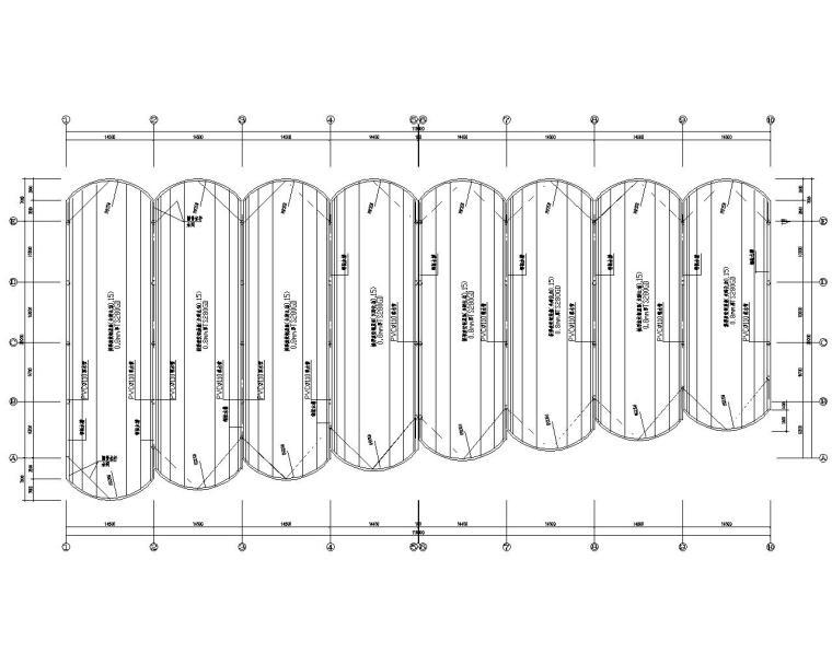仓库基础施工资料下载-某小型物流仓库结构设计施工图(CAD)