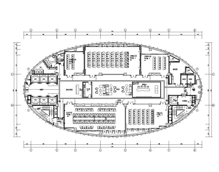 平场工程图资料下载-4万平指挥调度楼智能化工程图(14项弱电)