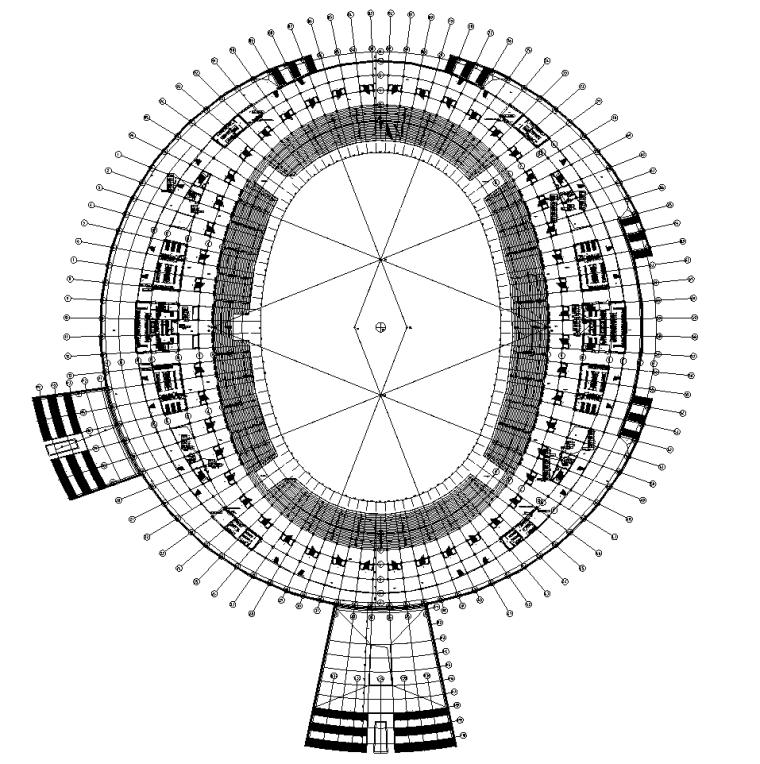 二层电力平面图