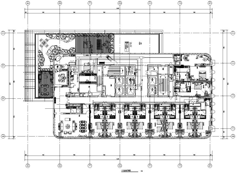 山东淄博商业综合体酒店二次机电设计施工图