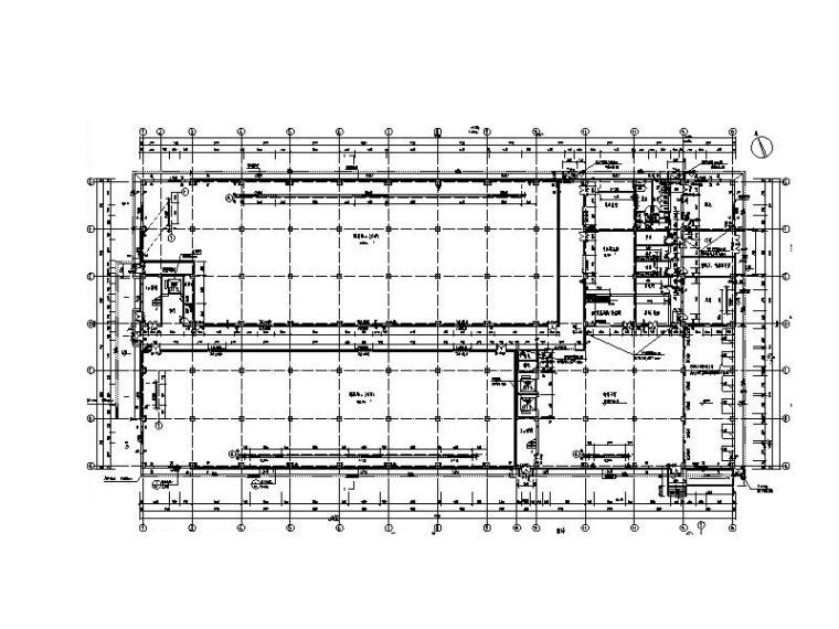 仓库基础施工资料下载-六层30000平方综合仓库建筑结构施工图2018