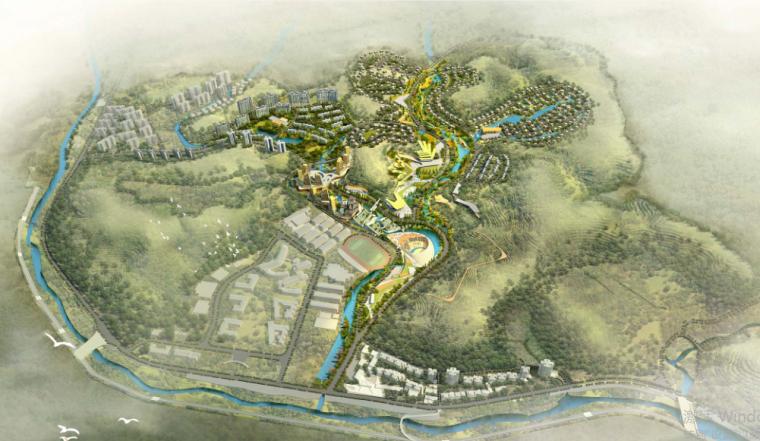 湿地公园生态旅游度假区概念规划文本