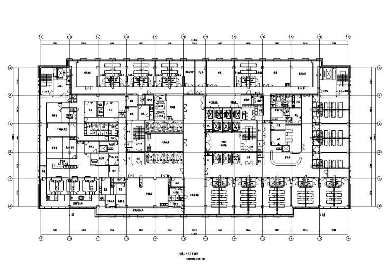 甘肃某三甲医院住院部新建综合楼电气施工图