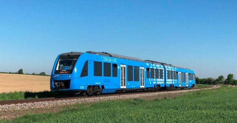 世界首款氢动力铁路客运列车在荷兰测试