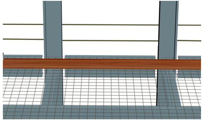 商用高层钢结构施工安全专项方案-沿边安全防护栏杆的设置