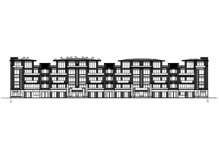 贵阳市某组团住宅楼项目建筑施工图设计