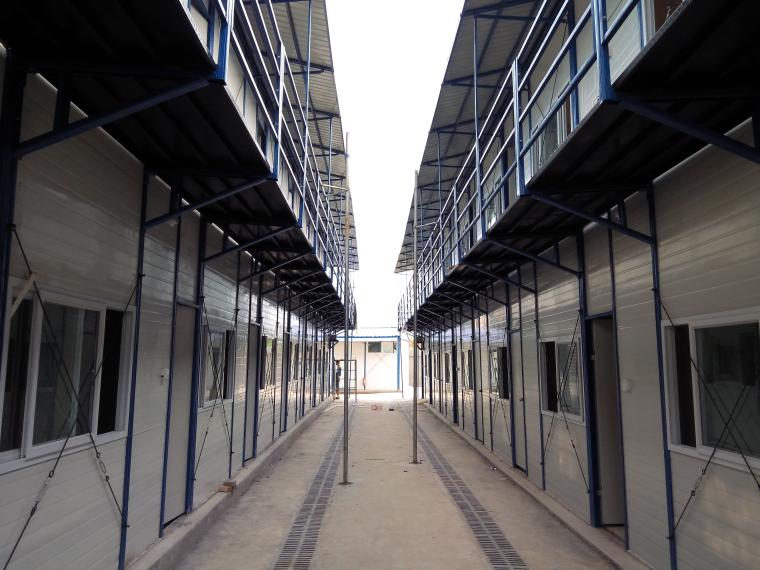 [湘潭]框架结构高层住宅安全创优策划方案-01临建