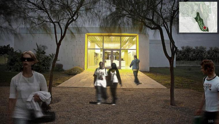 绿洲图书馆效果图
