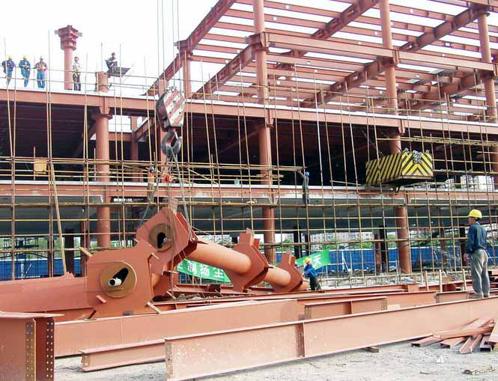 37多层钢结构安装