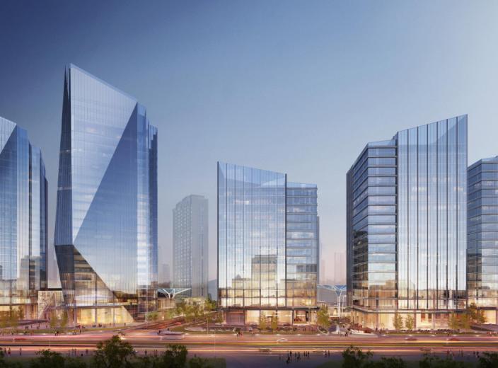北京某商业综合体未来城概念性设计方案文本