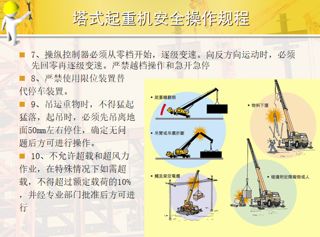 49塔式起重机安全操作规程