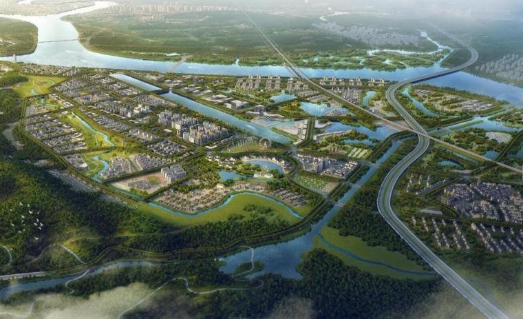 文化旅游区-总体概念规划与启动区城市设计