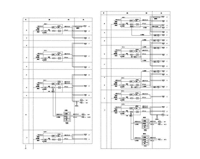 十套2019年电气精品图纸合集1.0-重庆5万平科研楼智能化资料(2019)-视频监控系统图(二)
