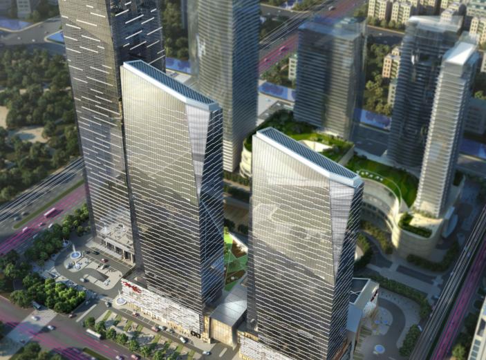 南京河西中央商务区CBD概念设计方案文本