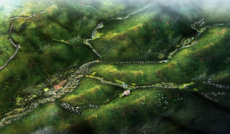 [河北]怀来美丽乡村旅游概念性规划设计