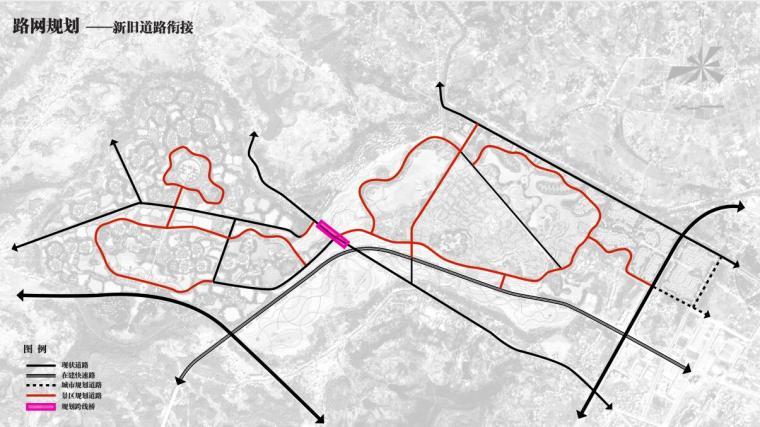 路网规划 ——新旧道路衔接
