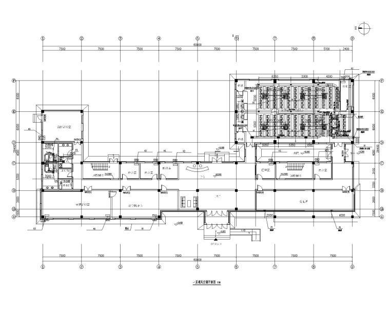 [贵州]烟叶厂技术改造群体项目暖通施工图