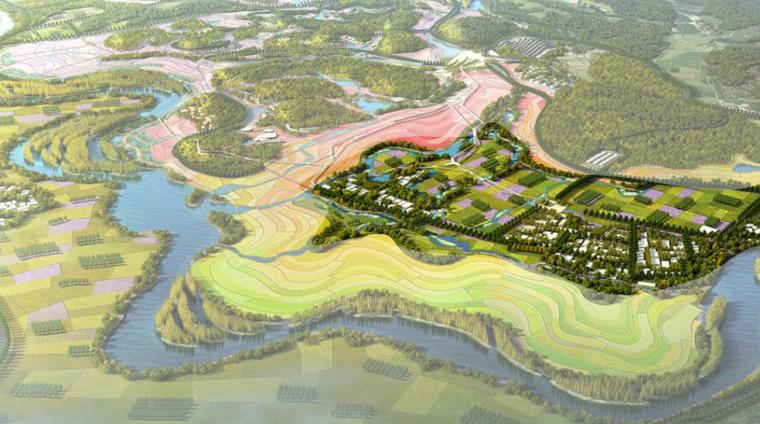 [河北]滨海田园综合旅游区景观规划