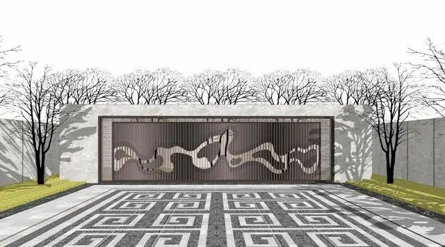 新中式山水墙意向图直接拿来用_13