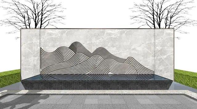 新中式山水墙意向图直接拿来用_22