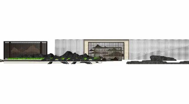 新中式山水墙意向图直接拿来用_34