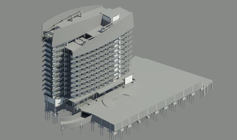酒店基于BIM的毕设第一阶段(含revit模型)