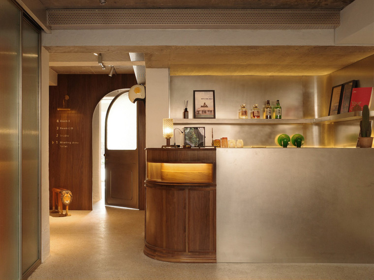 杭州两间室内设计办公空间