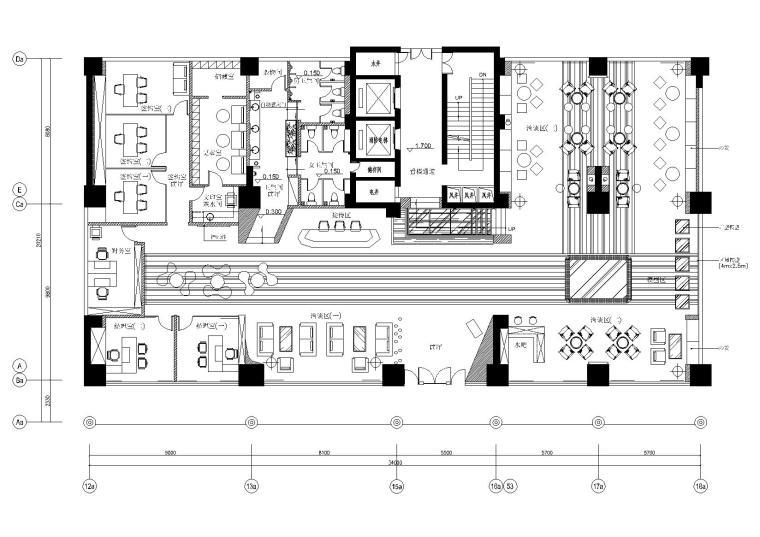 [广东]惠州某楼盘售楼部设计施工图+效果图