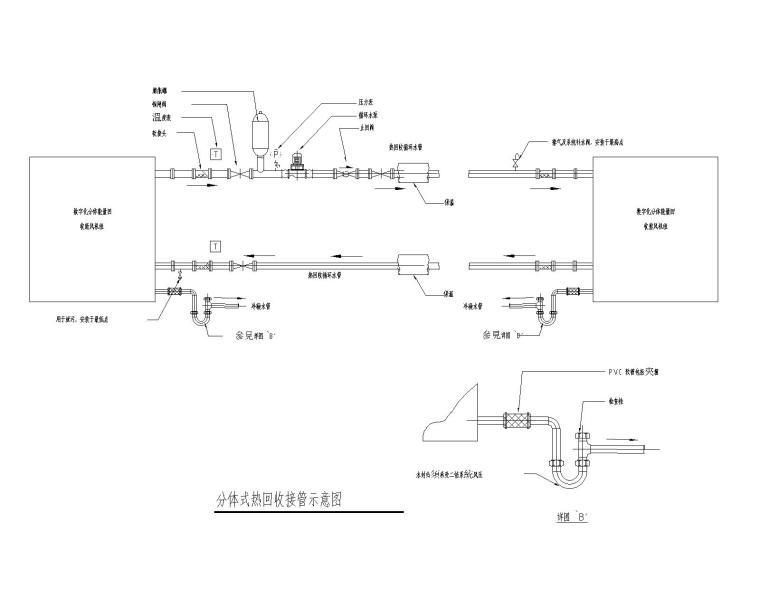 空调安装大样图CAD
