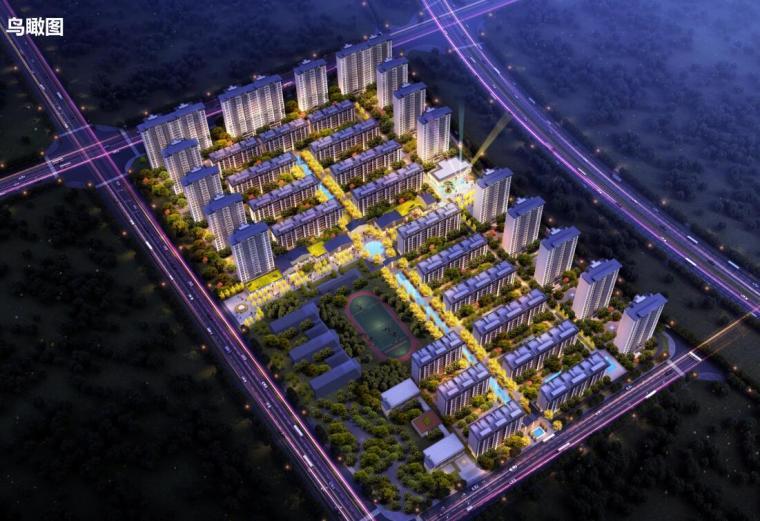[河南]远郊盘高层+洋房建筑投标文本