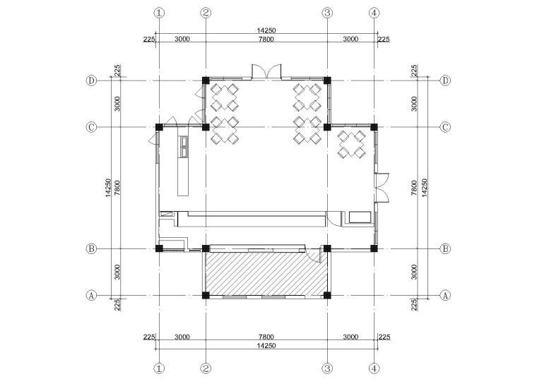 [昆明]古滇欢乐世界寒洲小馆餐厅设计施工图