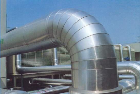 71保温管道金属保护壳制作精美,接口搭接顺水