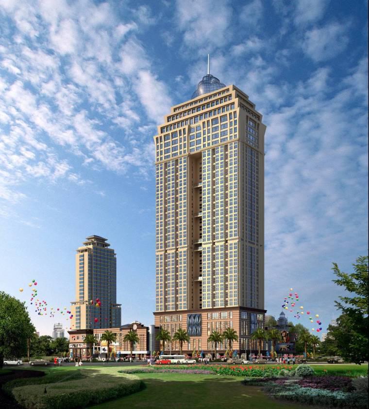 广东30层商业住宅公寓施工组织设计