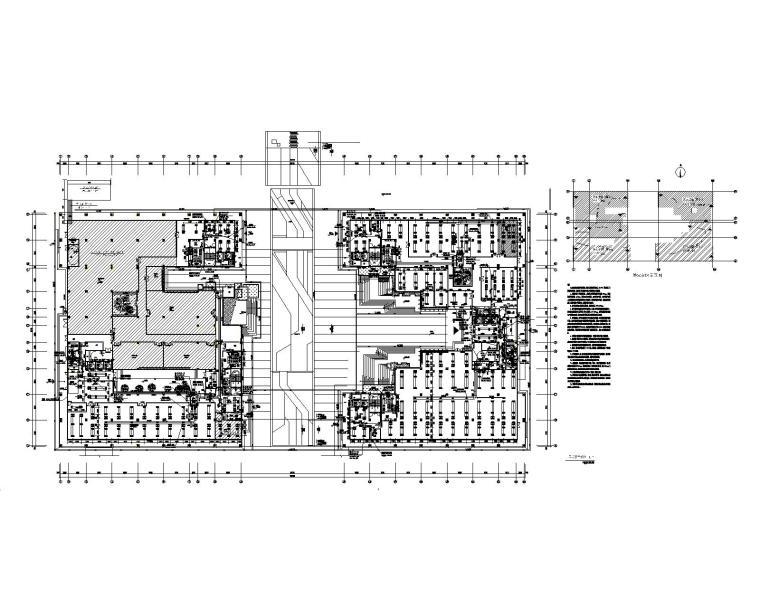 重庆大学信息技术科研楼暖通施工图