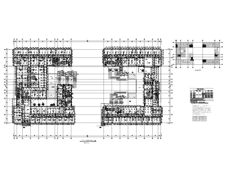 二层自动喷淋平面图