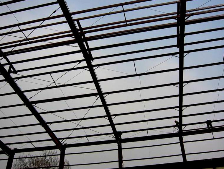 钢结构施工图识读方法与放样技巧培训PPT-22屋面檁条布置实例